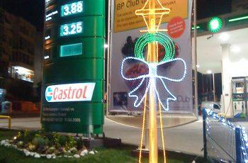 Benzinlik Süsleme