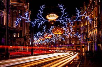 Cadde Led Işık Süsleme