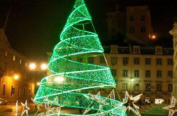 Işıklı Çam Ağacı